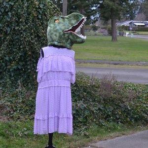 NWT Lane Bryant 28 Tiered Lace Ruffle Dress